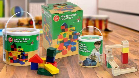 Inspirativní dřevěné kostky pro malé stavitele