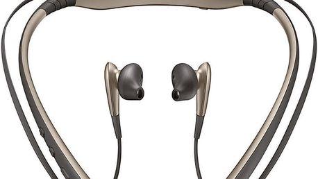 Samsung Bluetooth sluchátka LEVEL U, Gold - EO-BG920BFEGWW