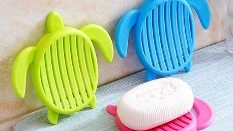 Odkapávač na mýdlo v podobě želvičky