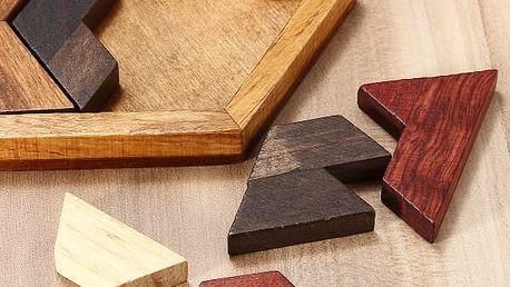 Dřevěný hlavolam - poštovné zdarma