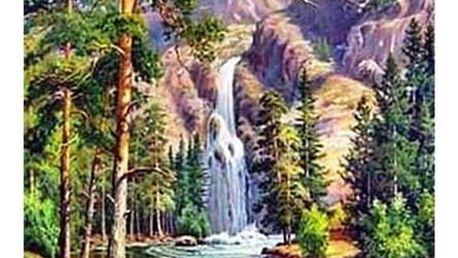 Sada pro výrobu vlastního obrazu - horská příroda - 40 x 30 cm
