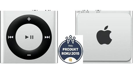 Apple iPod shuffle 2GB stříbrný, poslední kus