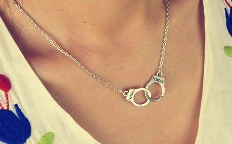 Dámský náhrdelník s pouty
