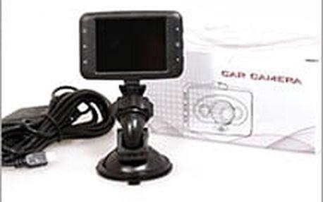 Kamera do auta - 2LED včetně poštovného. Super pomocník v případě dopravní nehody a dokazování viníka.