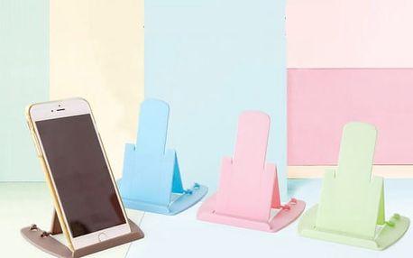 Barevný stojánek pro iPhone/Samsung/Huawei/HTC