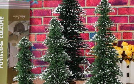 Mini vánoční stromeček - 15 až 30 cm - poštovné zdarma