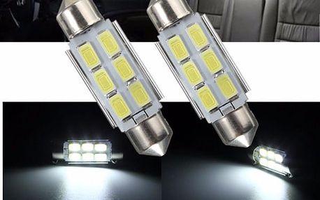 LED autožárovka C5W 5630 36/39 mm