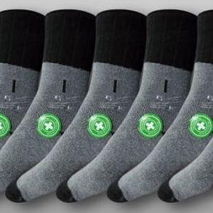 Zdravotní termo ponožky na zimu: 6 párů, na výběr ze 2 velikosti s možností osobního odběru