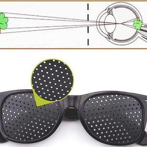 Dírkované brýle pro posílení zraku a relaxaci očí