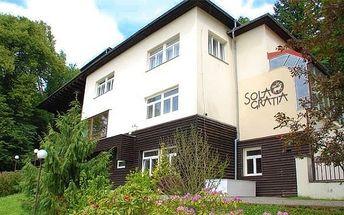 4denní pobyt s plnou penzí pro 12 osob v penzionu Sola Gratia na Moravě