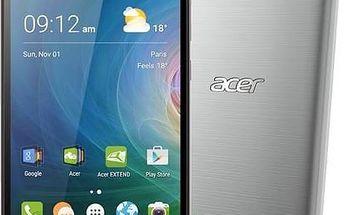 Acer Liquid Z630 LTE, Dual SIM, stříbrný