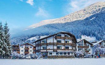 Italské Alpy pro DVA s wellness a polopenzí v hotelu nedaleko ski areálů