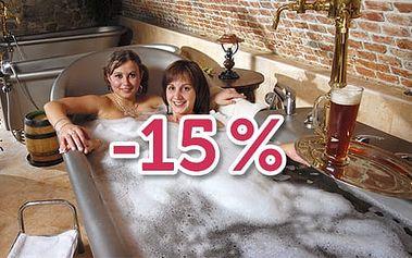 Všechny relaxační zážitky se slevou dalších 15%!
