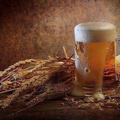 Pivo a domácí klobásky v pivovaru na Žižkově