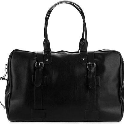 Pánská taška Solier S16, černá - doprava zdarma!