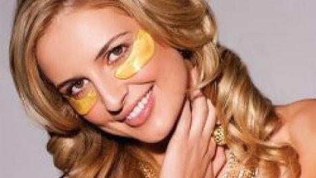 Maska na oči s 24-karátovým zlatem