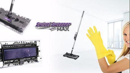 Nová verze Swivel Sweeper MAX! Bezdrátový AKU vysavač