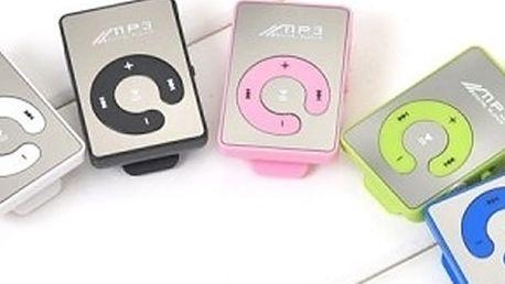 MP3 přehrávač s vynikající kvalitou zvuku v barevných variantách a s poštovným v ceně.