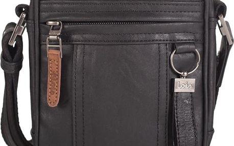 Pánská taška přes rameno LOIS no. 419, černá