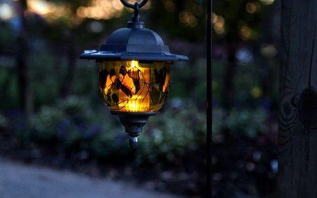 Solární světlo na zahradu Lantern, výška 90 cm