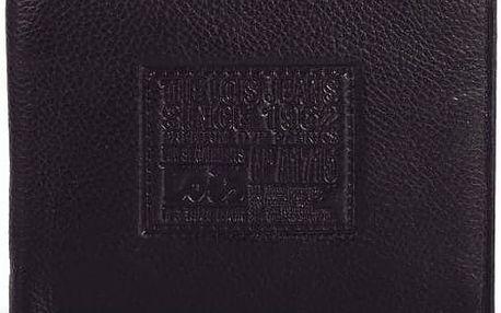 Pánská kožená peněženka LOIS no. 201, černá