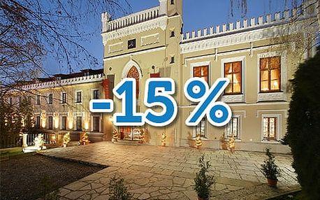 Extra sleva 15% na všechny pobyty!