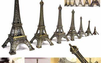 Dekorace ve tvaru Eifelovy věže - 7 velikostí