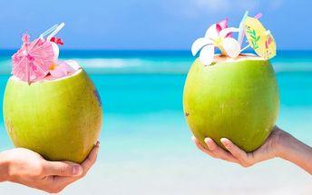 Mladý kokos a Crema di Melone, Banana či Pistacchio