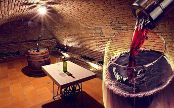 3–6denní vinařský pobyt v penzionu a vinařství Schwarzava na jižní Moravě pro 2–3 osoby