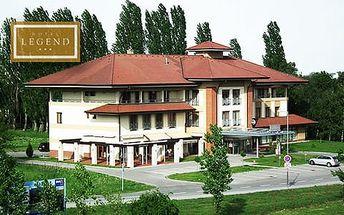 Pobyt v hotelu Legend ideální pro rodiče s dětmi, s polopenzí, bazénem a vyžitím pro děti