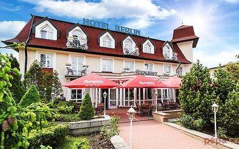 3–6denní pobyt pro 2 s polopenzí a wellness v Mariánkách v hotelu Berlín