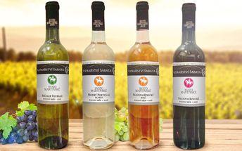 Svatomartinská vína: 6 lahví z rodinného vinařství
