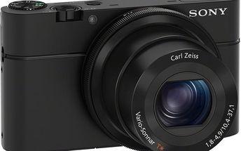 Sony Cybershot DSC-RX100, černá - DSCRX100.CEE8
