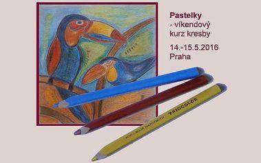 Dvoudenní kurz Kreslení pravou mozkovou hemisférou II. - Pastelky, 12.-13.11. Praha - last minute