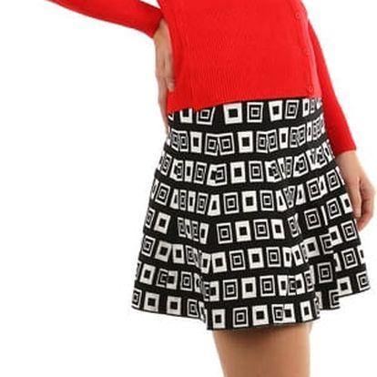 Retro sukně áčkového střihu
