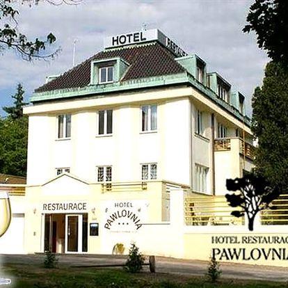 Romantický pobyt pro dva v hotelu Pawlovnia, se snídaněmi, navíc lahev vína, bazén s protiproudem.