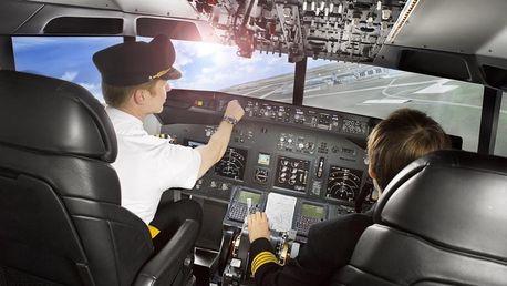 Darujte zážitek! Letecký trenažér Boeing 737