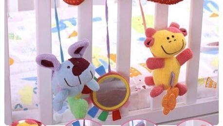 Závěsná hračka na postýlku - zvířátka