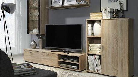 Variabilní obývací stěna Strakoš D-01 sonoma