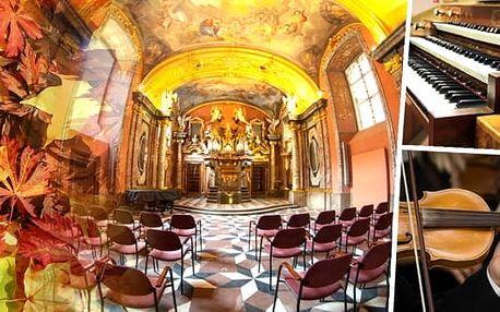 Koncert v Zrcadlové kapli Klementina - Vivaldiho Čtvero ročních dob - termíny v listopadu. Vydejte se na koncert do samého srdce Staré Prahy, kde vás, v jinak veřejnosti uzavřené Zrcadlové kapli Klementina, potěší tóny nejznámějších skladeb v podání hudeb