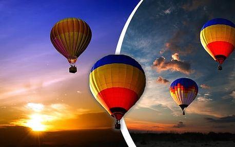 Hodinový let horkovzdušným balónem, startuje se z různých lokalit České i Slovenské republiky. Zážitek pro Vás nebo skvělý dárek, který můžete zakoupit za úžasnou cenu! Berte život s nadhledem!