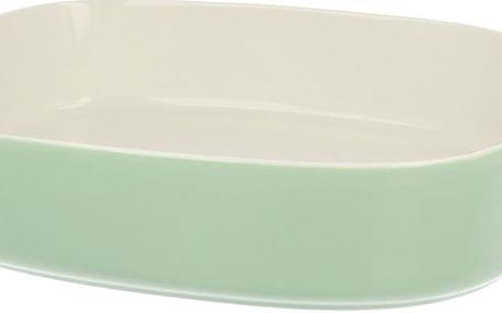 Porcelánová zapékací mísa Duo Gift Pot Green, 35.5 cm