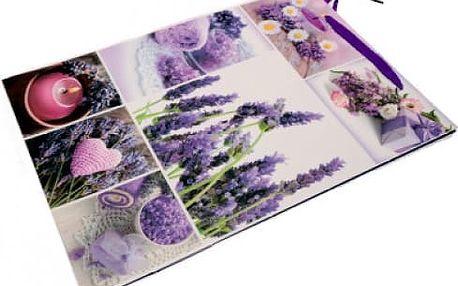 Dárková taška Lavender 32x26x10cm