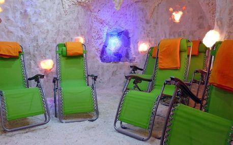 50minutová relaxace v solné jeskyni Fantazie