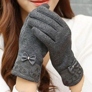 Dámské rukavice na dotykový displej - 5 barev