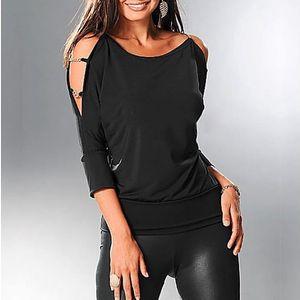 Černá elegantní halenka Silvie
