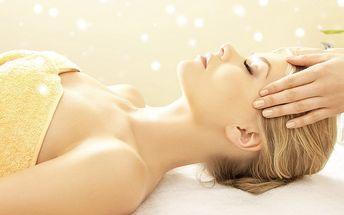 Relaxační masáž + Indická masáž hlavy