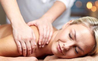 Relaxační masáže včetně masáže obličeje