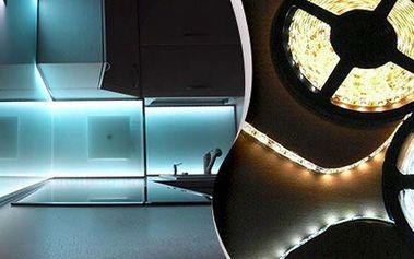 Bílé a barevné (RGB) LED pásky včetně nabídky příslušenství