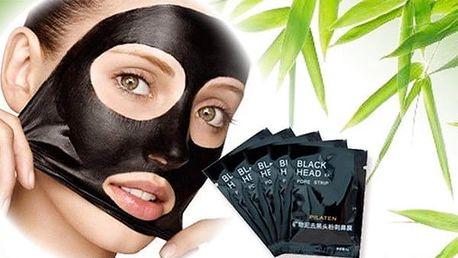 Černá korejská maska na pleť